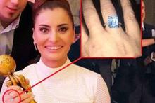 Hande Fırat'ın yüzüğü, aldığı ödülü gölgede bıraktı!