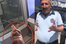 Üsküdar Belediye zabıtası gazeteciye saldırdı