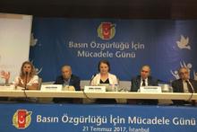 """TGC """"Basın Özgürlüğü İçin Mücadele Günü"""" toplantısı düzenledi"""