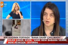 İki çocuğu öldürülen Dilek Çakır anlattı Müge Anlı gözyaşlarına boğuldu