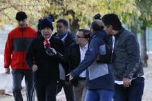Hulusi Akar'dan peşinden yetişemeyen gazetecilere tavsiye