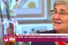 Canan Karatay canlı yayında Elazığ Türküsü söyledi