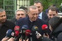 Cumhurbaşkanı Erdoğan'dan muhabire: Kim soracak abi?