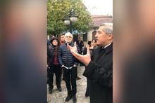 Gazetecilerden Hatay'da Habibi Neccar ziyareti