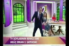 Meriç Erkan yayına ilginç dansıyla damga vurdu