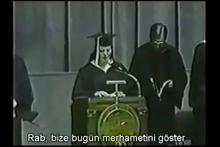 Nagehan Alçı'nın mezuniyet törenini gösterdiği iddia edieln video