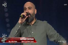 O Ses Türkiye şampiyonu Dodan 'Haydar Haydar'