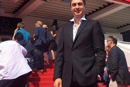Kurtlar Vadisi'nin 'Polat'ı Necati Şaşmaz Cannes'da...