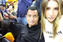 Acun Ilıcalı ve Şeyma Subaşı NBA finalinde