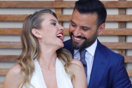 Alişan ve Eda Erol nişanlandı...