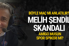 beIN Sport Spikeri Melih Şendil'den skandal anlatım...