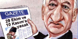 Cumhuriyet'ten manidar bir karikatür