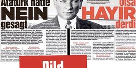 Erdoğan'dan Bild manşetine cevap: Atatürk olsa evet derdi