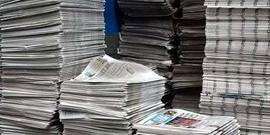 Gazetelerin tirajları tepe taklak oldu...