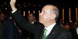 Alkışlar Cumhurbaşkanımız Erdoğan için