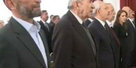 Erdem Gül'e İstiklal Marşı tepkisi