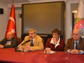 Ankara Gazeteciler Cemiyeti'nin seçilmiş kurulları toplandı