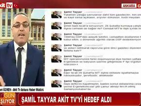Şamil Tayyar'la Akit TV Haber Müdürü, Melih Gökçek yüzünden birbirine girdi