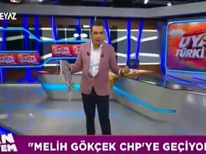 Beyaz TV sunucusundan Akit muhabirine sert tepki