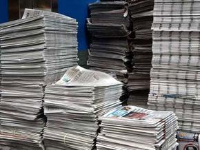 Gazete tirajları yerinde saydı...