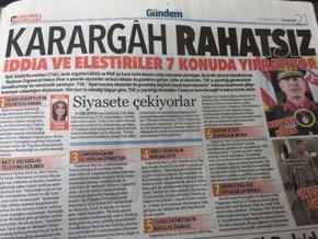 'Karargah Rahatsız' manşeti 'terör' kapsamına alındı