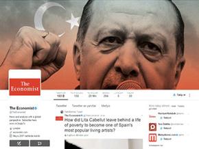 İngiliz Economist'in Erdoğan'lı kapağı sosyal medyayı salladı