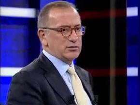 Günün televizyoncusu Fatih Altaylı...