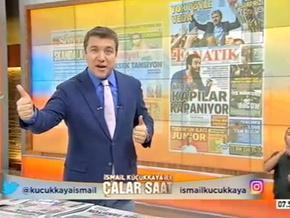 İsmail Küçükkaya, Rıdvan Dilmen'i çok fena yakaladı...