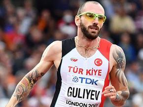 Alkışlar Ramil Guliyev için...