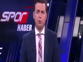 NTV Spor spikerinin dili çok fena sürçtü…