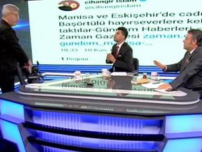 Cihangir İslam Akit TV canlı yayınını terk etti!