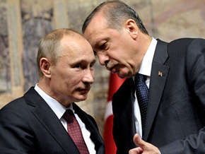 Alkışlar Erdoğan Putin ikilisi için