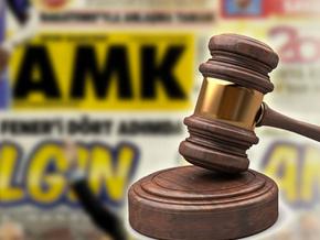 Hakaret davasında verilen cezaya AMK gazetesiyle itiraz