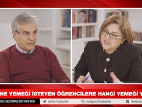 Fatma Şahin, Hadi Özışık'a konuk oldu rakiplerine meydan okudu