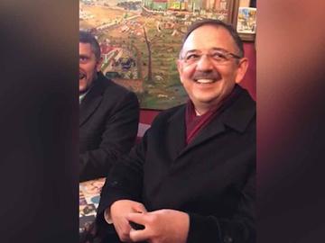 Mehmet Özhaseki Ankaralı gazetecilerle nostalji yaptı