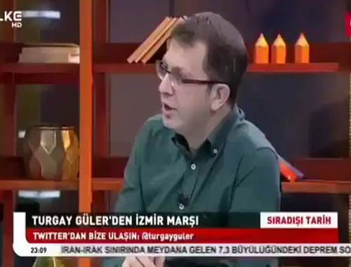 Turgay Güler İzmir marşı okudu sosyal medya yıkıldı