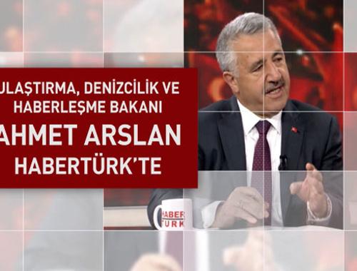 Ahmet Arslan bu akşam Habertürk'te
