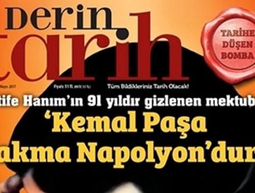 Derin Tarih'e 'Atatürk'e hakaret' soruşturması! Son sayı toplatılacak