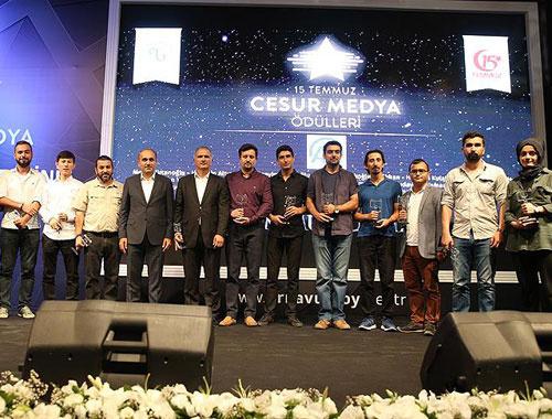 '15 Temmuz Cesur Medya Ödülleri' sahiplerini buldu...