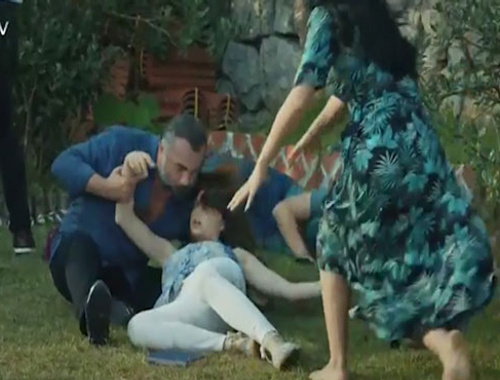 Eşkıya Dünyaya Hükümdar Olmaz'da Zeynep'in vurulma sahnesi