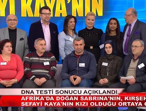Müge Anlı Cibutili Sabrina'yı 'Türk Fatma' yaptı