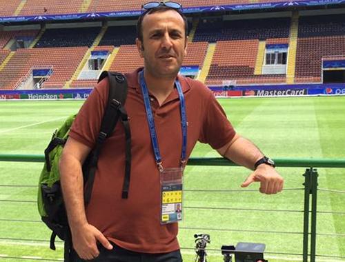 Günün muhabiri Ercan Öztürk