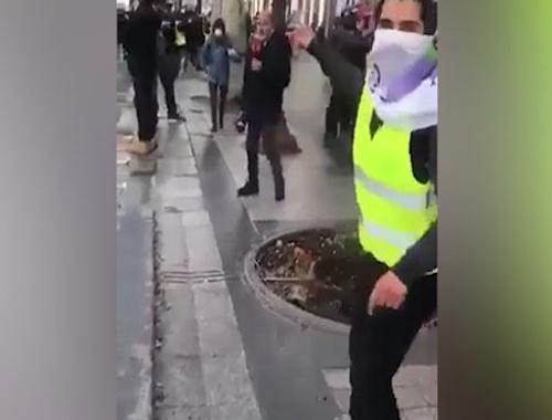 Fransa'da terör örgütü sempatizanlarından TRT Haber'e saldırı