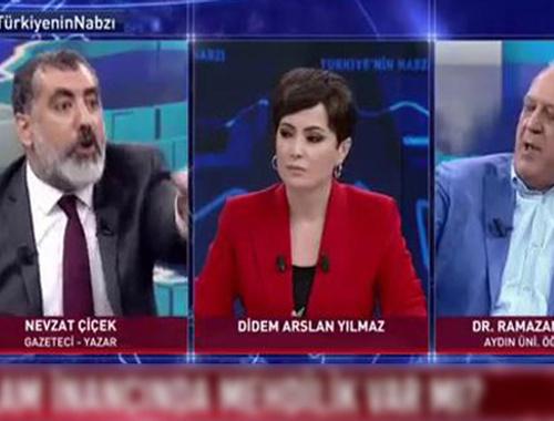 Habertürk TV'de büyük tartışma! Reklama gitmek zorunda kaldı!