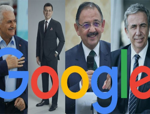 Google'a göre İstanbul ve Ankara'da seçimi kim kazanıyor?
