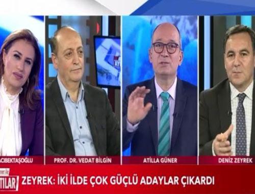 Deniz Zeyrek gönlündeki AK Parti adayını açıkladı! Canlı yayına damga vuran sözler