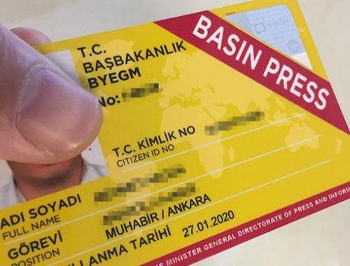 Kaç kişi basın kartı başvurusu bekliyor?