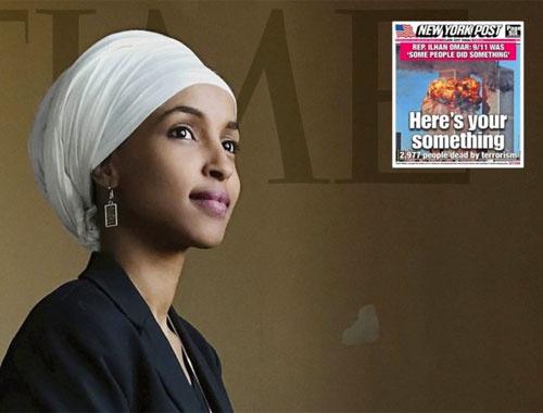 İIhan Omar'ı hedef gösteren New York Post'a boykot çağrısı