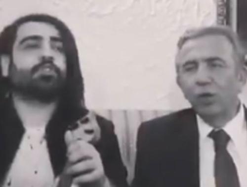Mansur Yavaş'ın türkü performansı