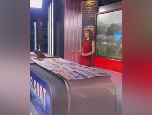 FOX TV sunucusu Merve Yıldırım'dan danslı bayram kutlaması
